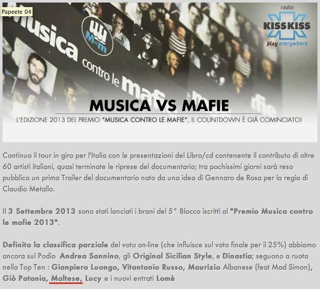 Musica VS Mafie 2013